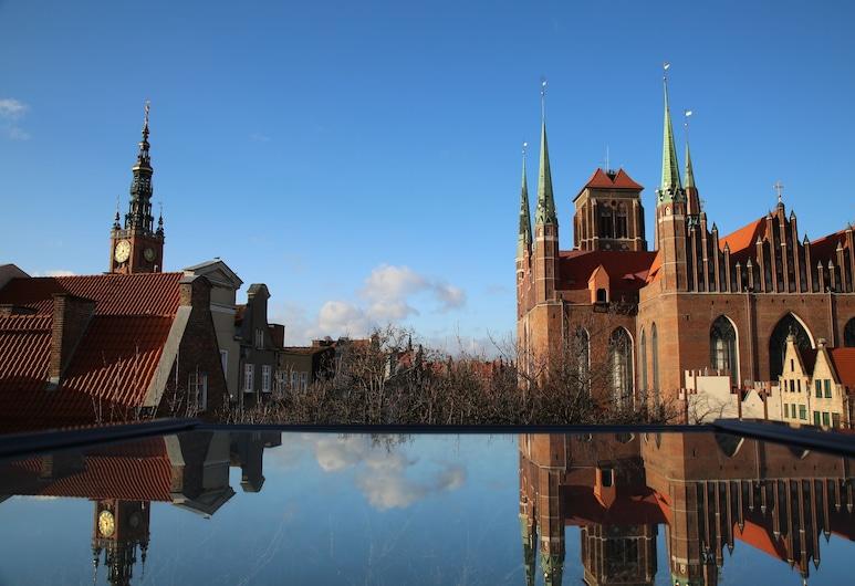 Apart Neptun, Gdansk, Queen Room, Útsýni úr herbergi