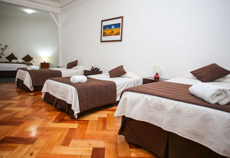 Hotel Plaza Londres, Santiago, Phòng