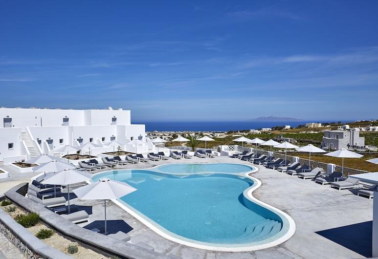 De Sol Spa Hotel, Santorini, Aerial View