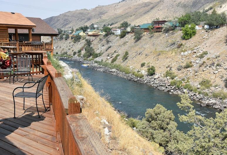 Yellowstone River Suites, Gardiner, Ausblick von der Unterkunft