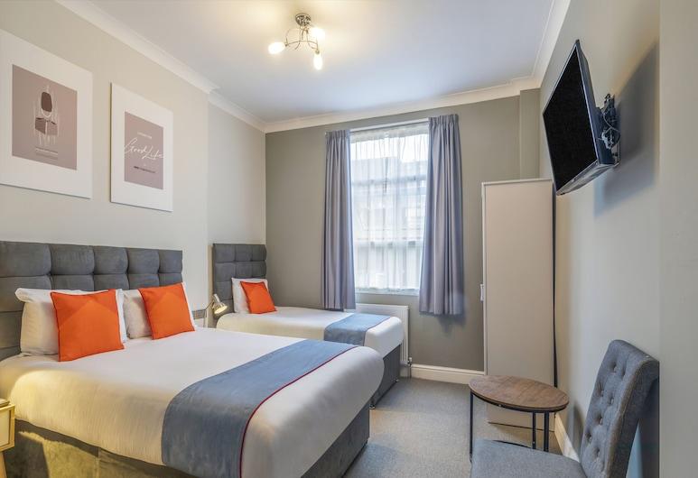 OYO Apollo Hotel Bayswater, London, Deluxe-Dreibettzimmer, Zimmer