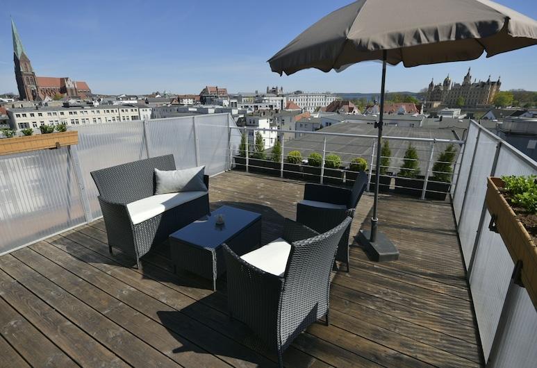 Pension am Schloss, Schwerin, Panoramic Penthouse, Terrace/Patio