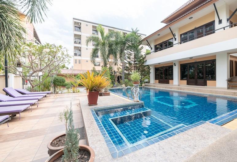 Chaba Garden Resort & Service, Pattaya, Kolam Renang Luar Ruangan