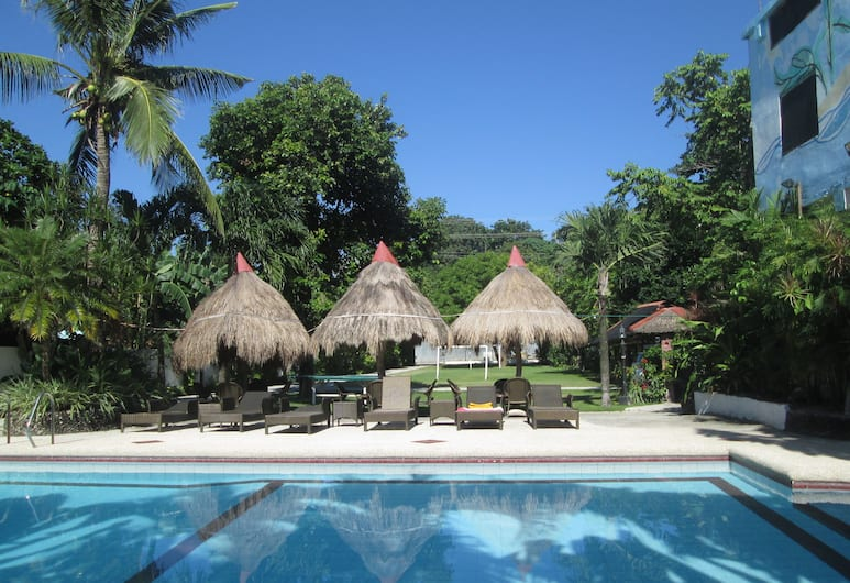 Tonglen Eco Resort, Boracay Island, בריכה חיצונית