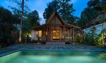 Fotografia hotela (Plataran Borobudur Resort & Spa) v meste Borobudur (budhistický chrám)