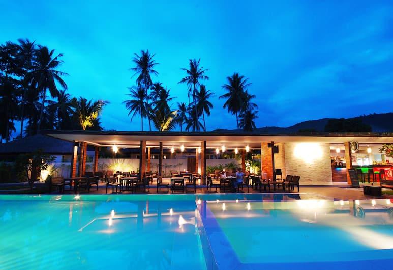 ザ リビング プール ヴィラズ, サムイ島, 屋外プール