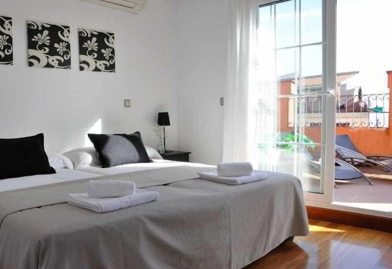 Gran Via Sol Apartamentos, Madrid, Vaade hoonest