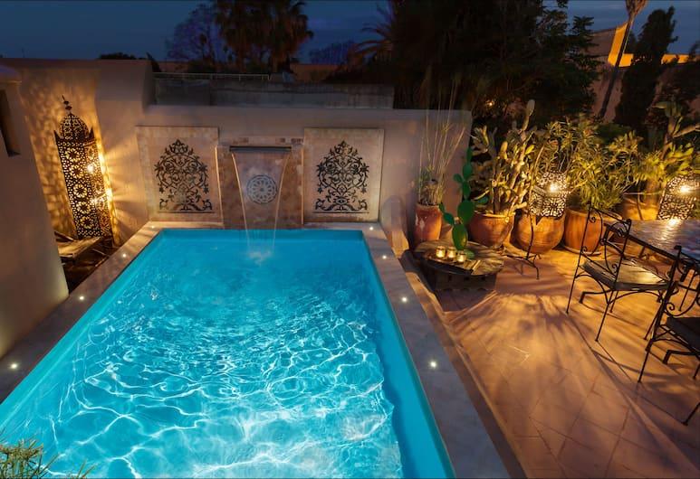 Riad Swaka , Marrakech, Piscine en plein air