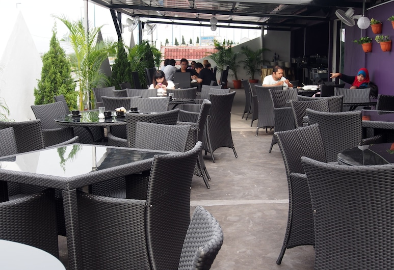 Venus Boutique Hotel, Malacca City, Vakarienės lauke