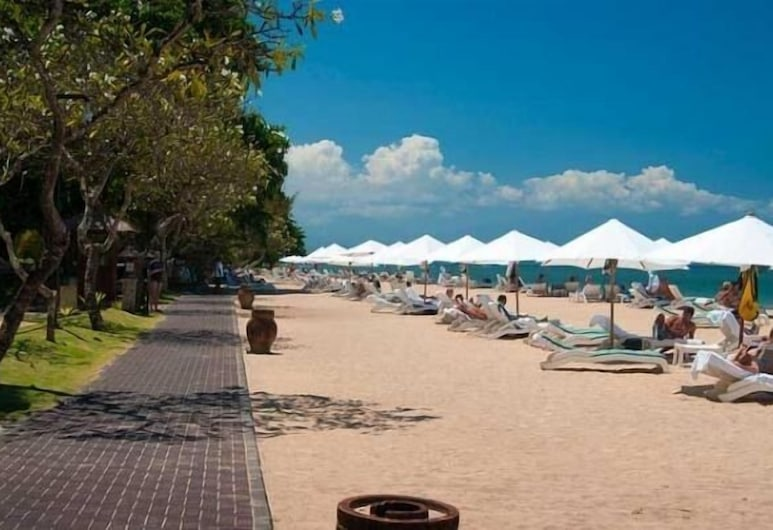 Kodja Beach Resort, Kuta, Pláž