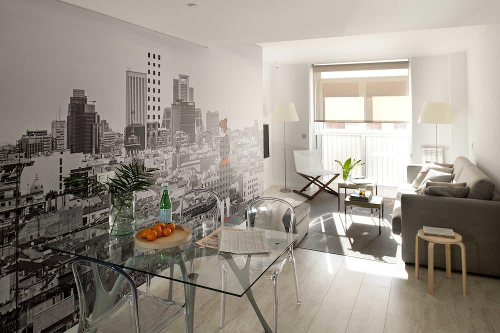 Apartment, 1 Bedroom (4 pax) - Living Room