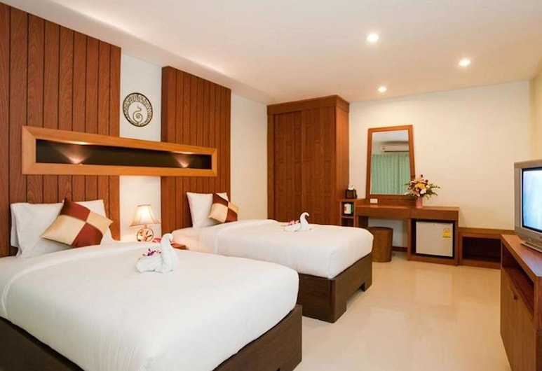 Deva Suites Patong, Patong, Deluxe Double Room, 1 Bedroom, Guest Room