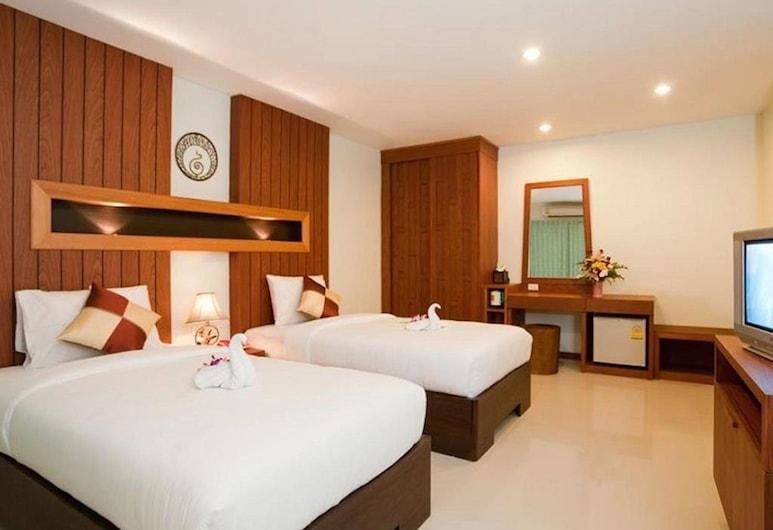 Deva Suites Patong, Patong, Deluxe Double Room, 1 Bedroom, Bilik Tamu