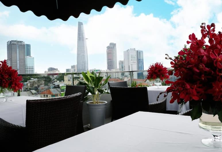 Anpha Boutique Hotel, Ho Chi Minh-Stad, Terras