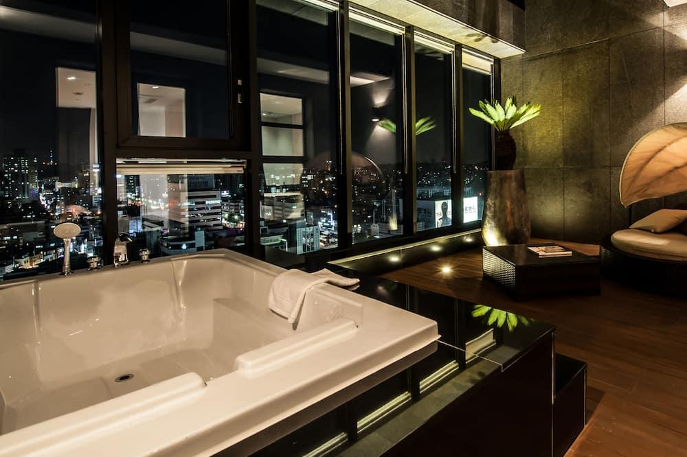 Pokoj typu Premium, terasa - Výhled z balkonu