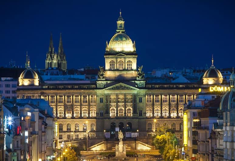 Hotel Modrá Růže, Prague, View from Hotel