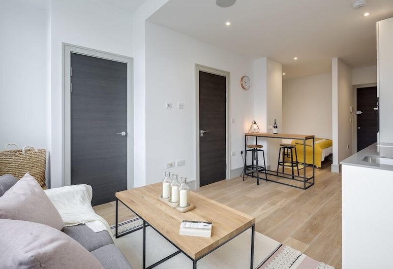 Olive Níké Apartments, London, Comfort Studio, 1 Double Bed with Sofa bed, Room