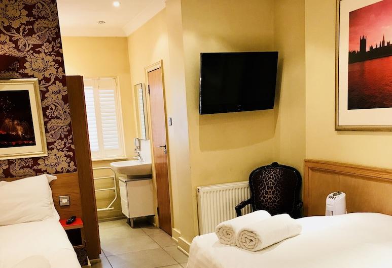 Albion House Hotel, Londýn, Třílůžkový pokoj, Pokoj