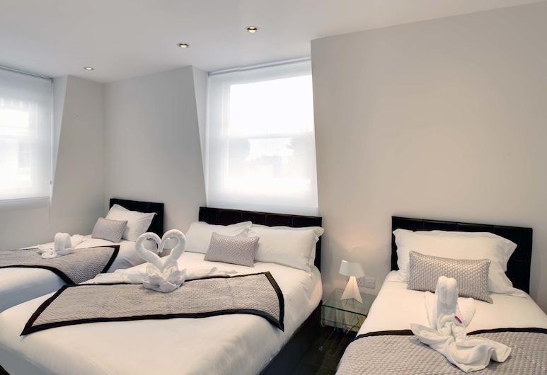 諾克斯酒店 - 貝爾塞斯公園, 倫敦, 家庭標準客房, 客房