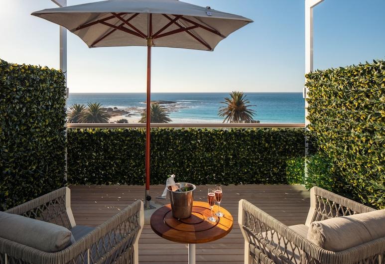 The Marly Hotel, Ciudad de El Cabo, Habitación clásica, con vista al mar, Terraza o patio