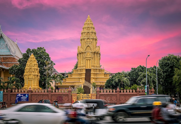Angkor Mithona Guesthouse, פנום פן, נוף לעיר מהנכס