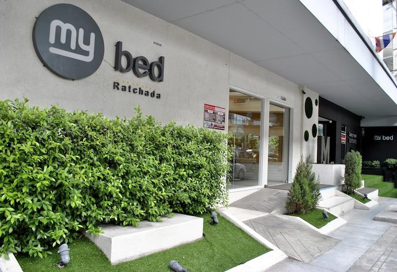 mybed Ratchada-Ladprao, Bangkok, Wejście do hotelu