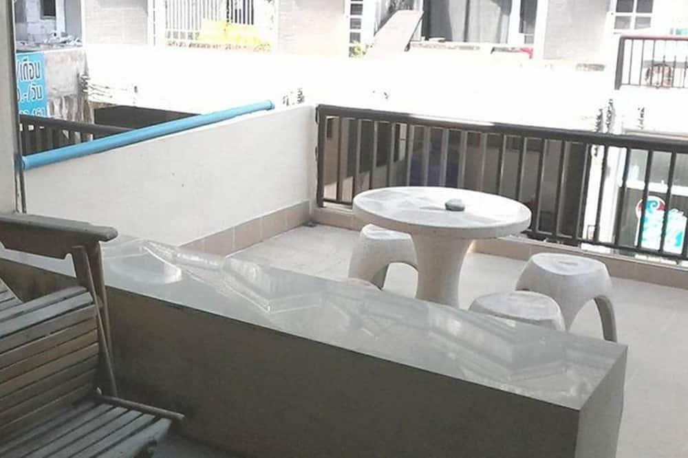 Tremannsrom - Balkong