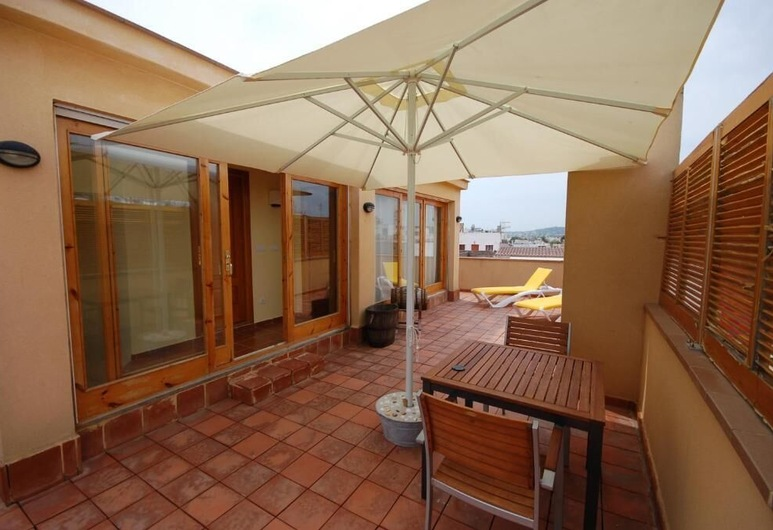 Hotel Led Sitges, Sitges, Superior Double Room, Terrace, Guest Room
