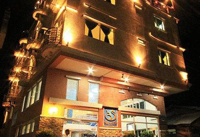 Bora Sky Hotel, Boracay Island, Hotel Front – Evening/Night