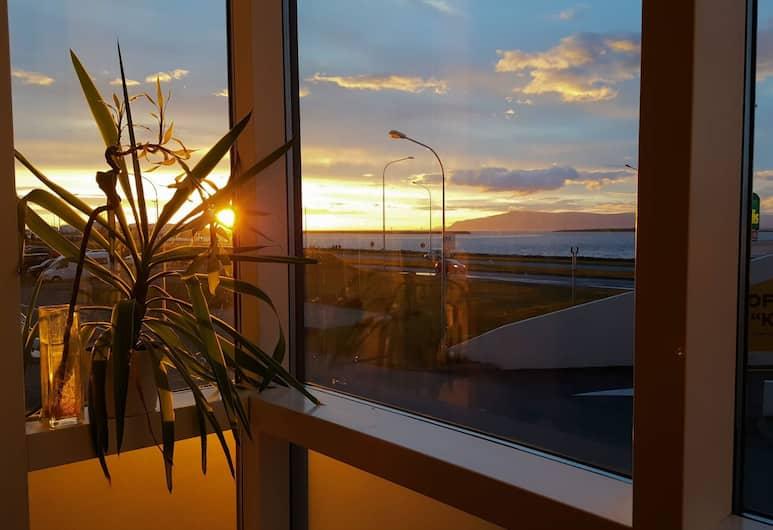 Alfred's Apartments, Reykjavik, Luksushuoneisto, 2 makuuhuonetta, Merinäköala, Näkymä huoneesta