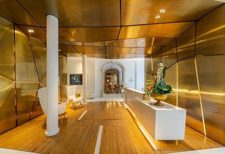 Hotel Portugal, Lisboa, Vestibyle