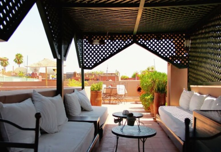 Riad Al Karama, Marrakech, Terrasse/Patio
