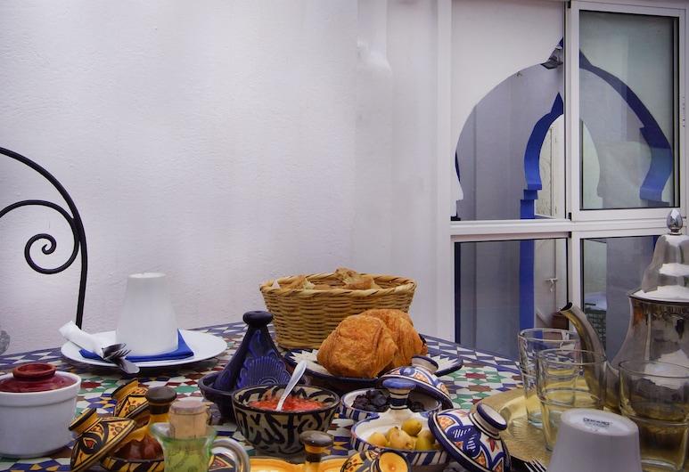 Hotel Casa Miguel, Chefchaouen, Speisen im Freien