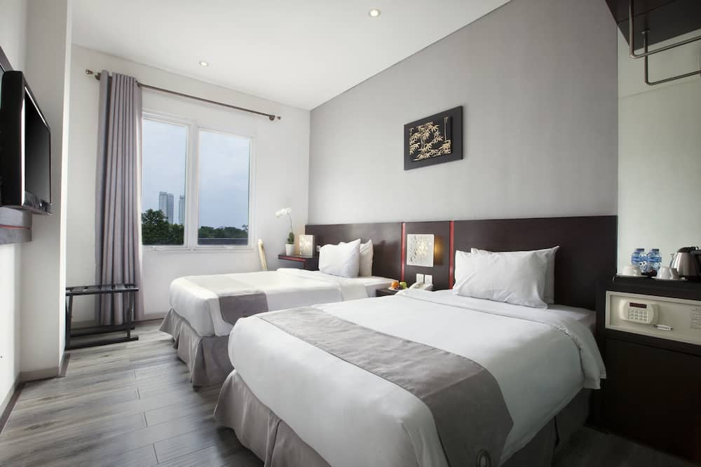 Deluxe Double or Twin Room, Non Smoking, City View - City View