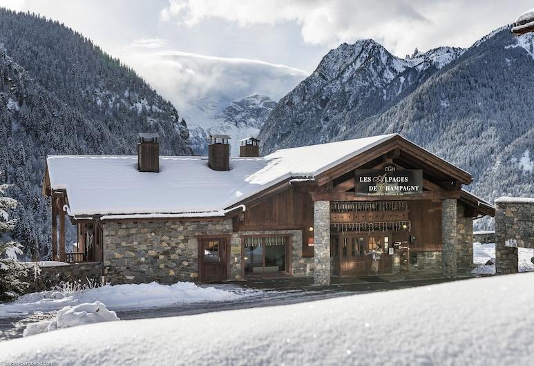 CGH Résidences & Spas Les Alpages de Champagny, Champagny-en-Vanoise, Фасад объекта размещения