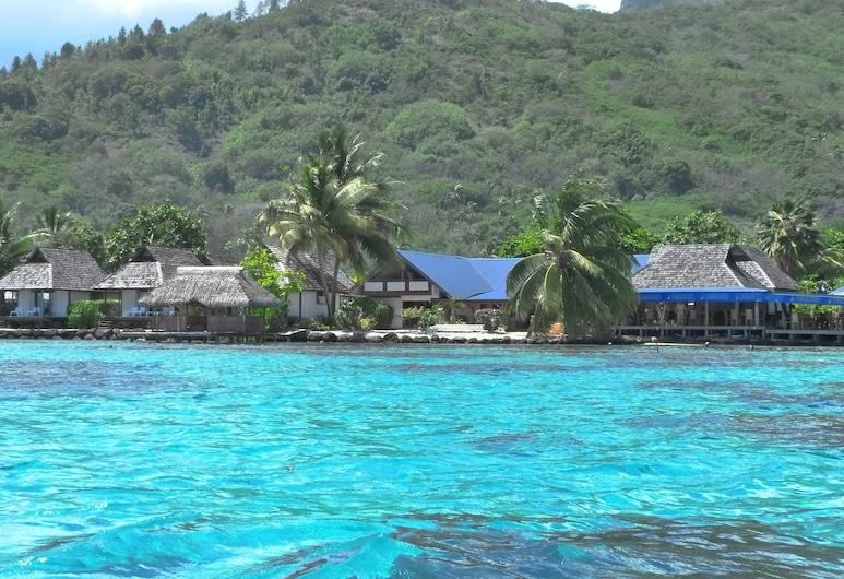 Pension Motu Iti, Moorea-Maiao, Utsikt fra hotellet