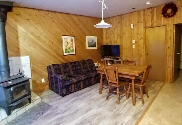 Oasis du grand fond, La Malbaie, Standard-Chalet, 1 Schlafzimmer, Wohnbereich