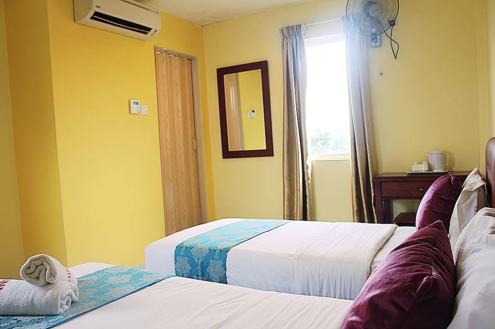 Superior-huone, 2 yhden hengen sänkyä, Ei ikkunoita - Vierashuone