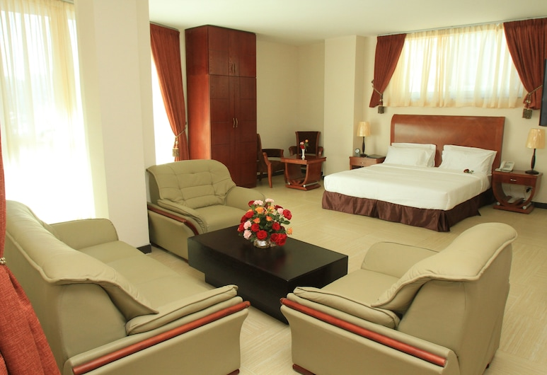 Aphrodite International Hotel, Addis Ababa, Executive Suite, Bilik Tamu