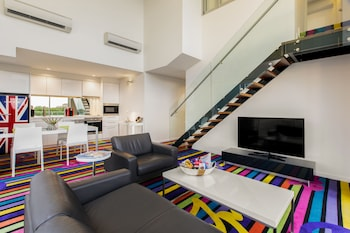 Foto do ADGE Boutique Apartment Hotel em Surry Hills