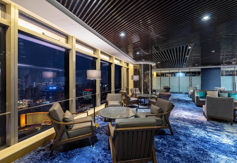 Grand Madison Qingdao Harbour-view Central, Qingdao, Hotellounge