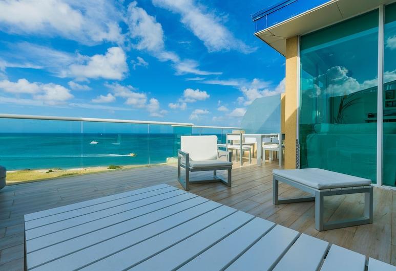 Blue Residences, Noord, Penthouse, 3 Bedrooms, Ocean View , ลานระเบียง/นอกชาน