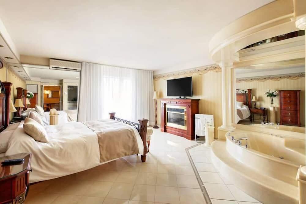 Numeris, 1 didelė dvigulė lova, Nerūkantiesiems (Upgrade, Upper Floor) - Svečių kambarys