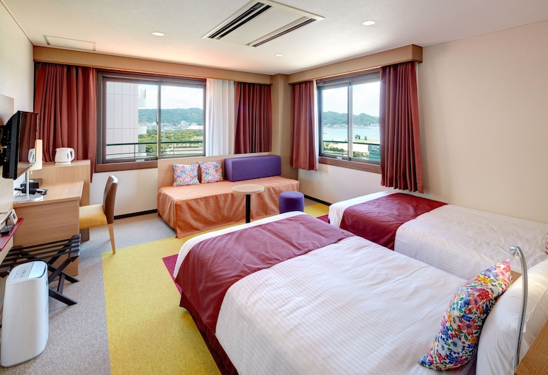 沖繩余家弗酒店, 名護, 豪華雙床房, 非吸煙房, 海景, 客房