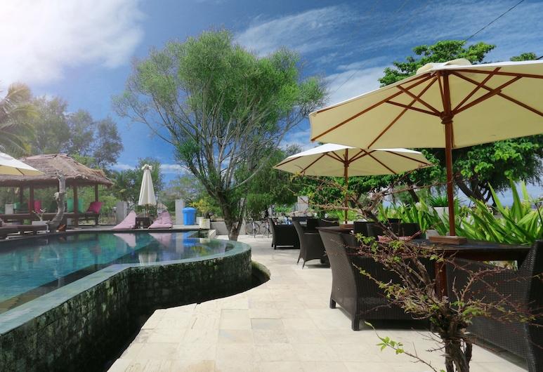 Villa Julius, Gili Trawangan, Piscine en plein air