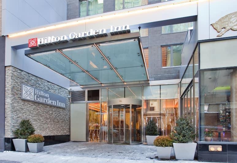 Hilton Garden Inn New York/Central Park South-Midtown West, Niujorkas, Įėjimas į viešbutį