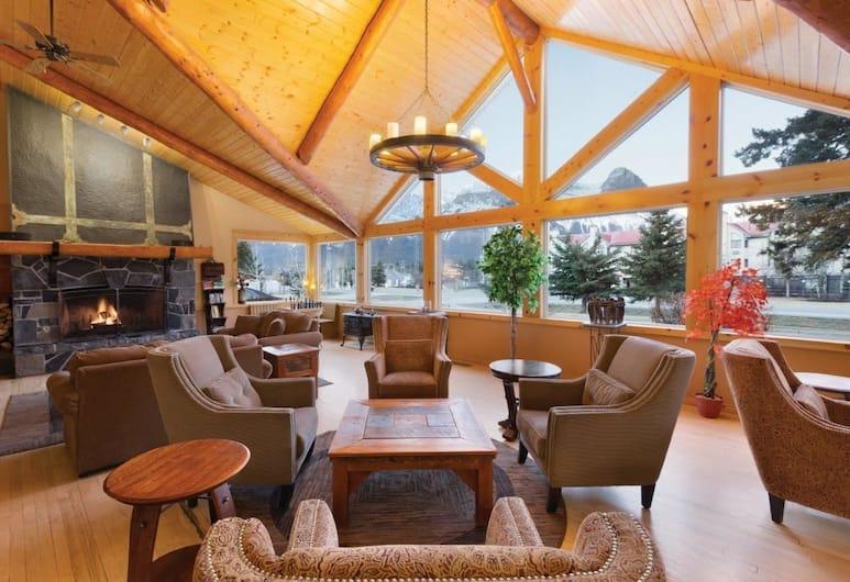 Canmore Rocky Mountain Inn, Canmore, Tempat Duduk di Lobi