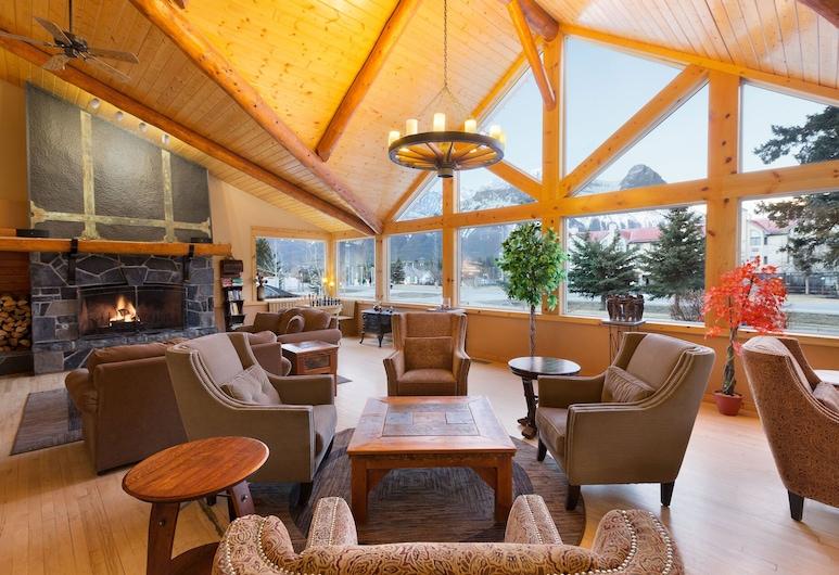 Canmore Rocky Mountain Inn, Canmore, Salottino della hall
