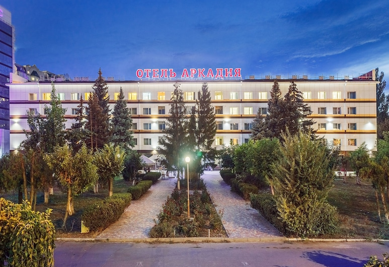 Arcadia Hotel, Odessa, Hotel Front