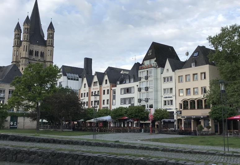 City Apartment, Kolín, Pohľad na zariadenie